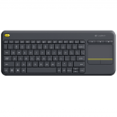 Logitech Wireless Touch Tastatur K400 Plus - Keyboard