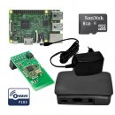 Rasberry Pi Z-Wave Komplett Kit Schwarz inkl. RaZberry