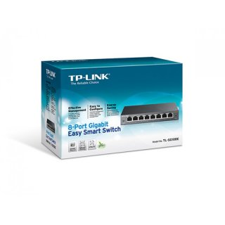 8 Port Gigabit Switch TL-SG108E von TP-LINK