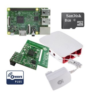 Rasberry Pi Z-Wave Komplett Kit inkl. RaZberry2 ZMEERAZ2 RW