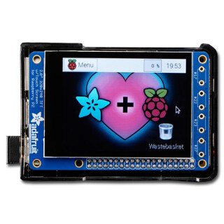 PiTFT Plus - 320 x 240 2.8 TFT Capacitive Touchscreen Display